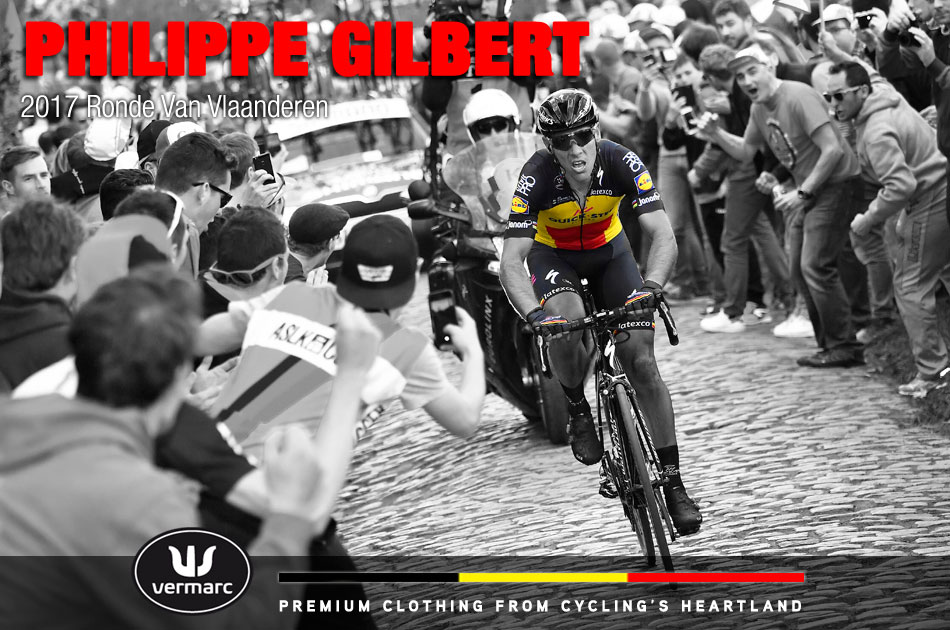 Philippe Gilbert wins the 2017 Tour of Flanders