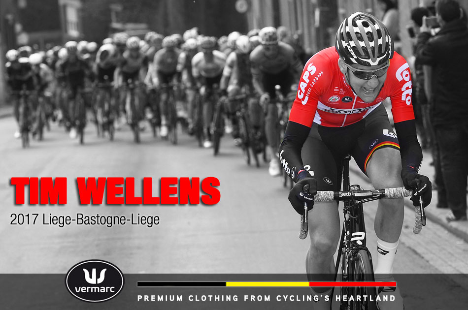 Tim Wellens at Liege-Bastogne-Liege 2017