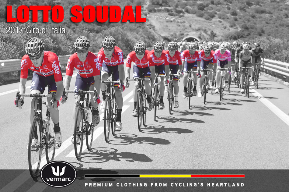 Lotto Soudal at the 2017 Giro d'Italia