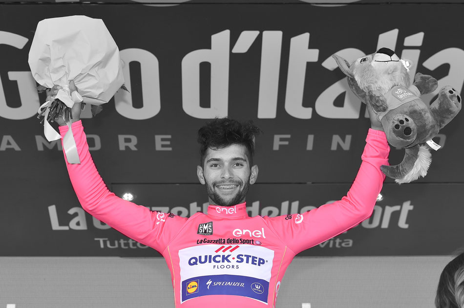 Fernando Gaviria at the 2017 Giro d'Italia