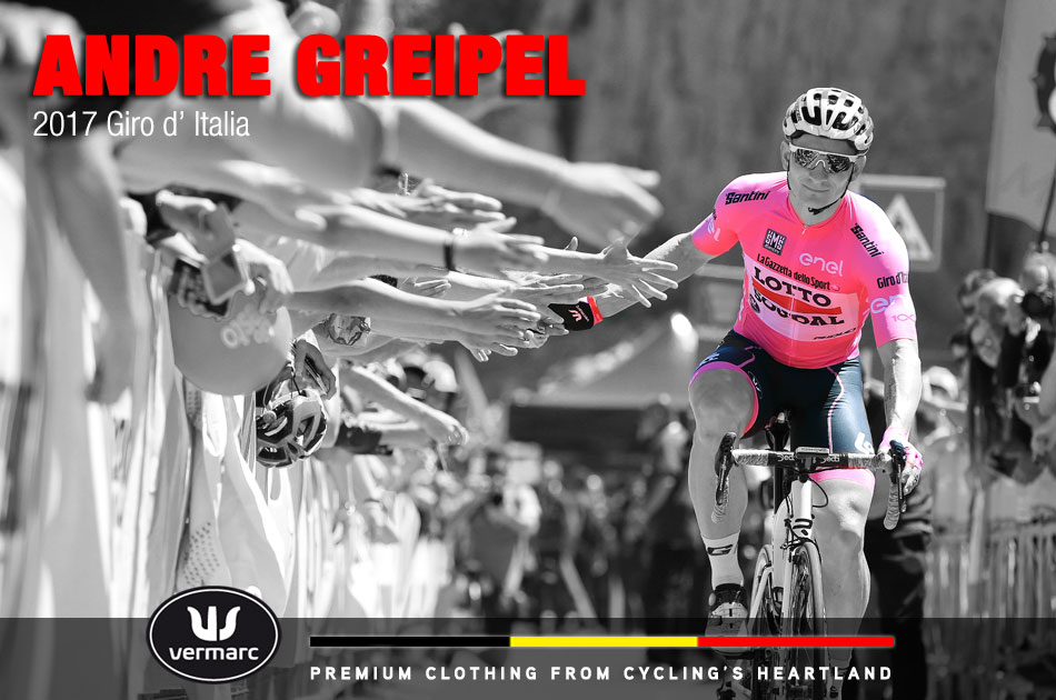 Andre Greipel at the 2017 Giro d' Italia