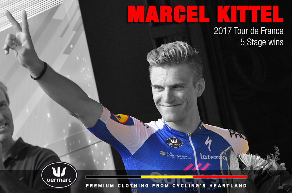 Marcel Kittel at the 2017 Tour de France
