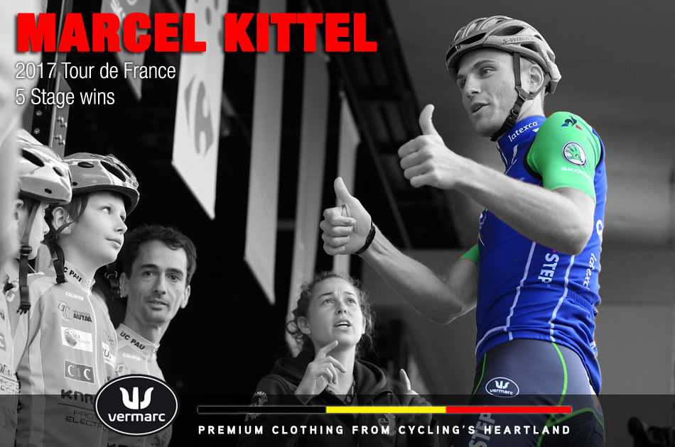 Marcel Kittel meets with kids at the 2017 Tour de France