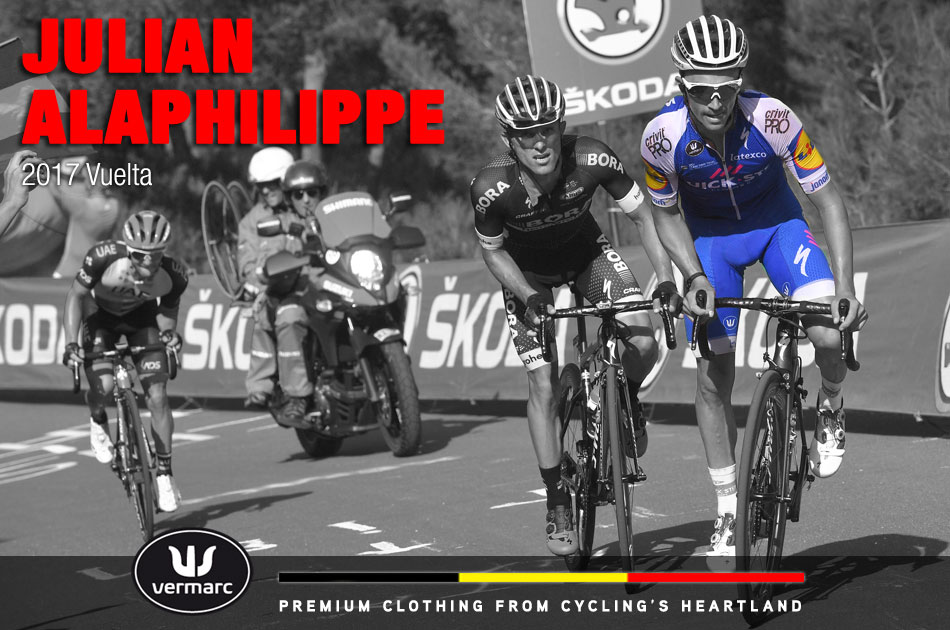 Julian Alaphilippe at the 2017 Vuelta