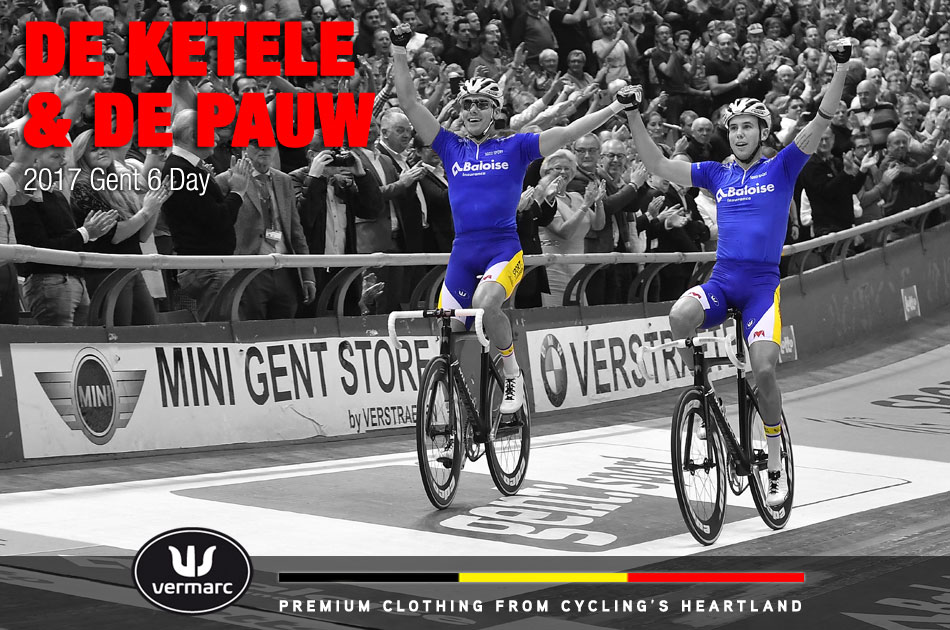 De Ketele and De Pauw at Gent 6 day 2017
