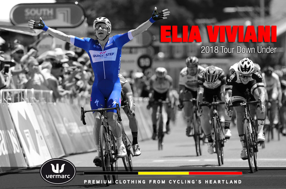 Elia Viviani - 2018 Tour Down Under