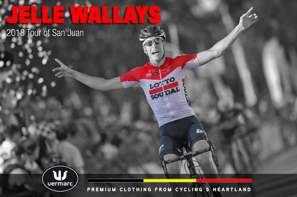 Jelle Wallays at the 2018 Tour of San Juan