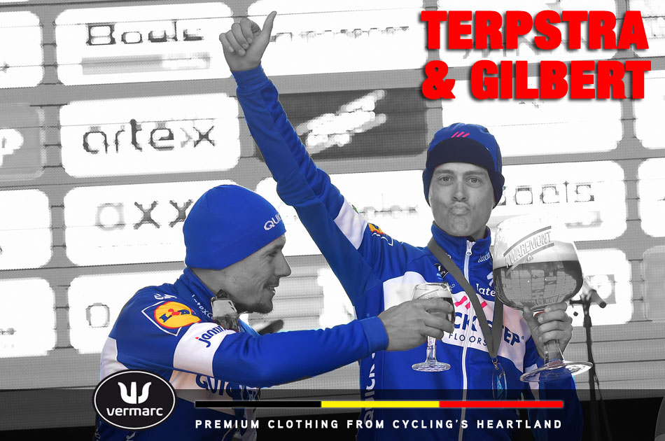Niki Terpstra and Phillippe Gilbert