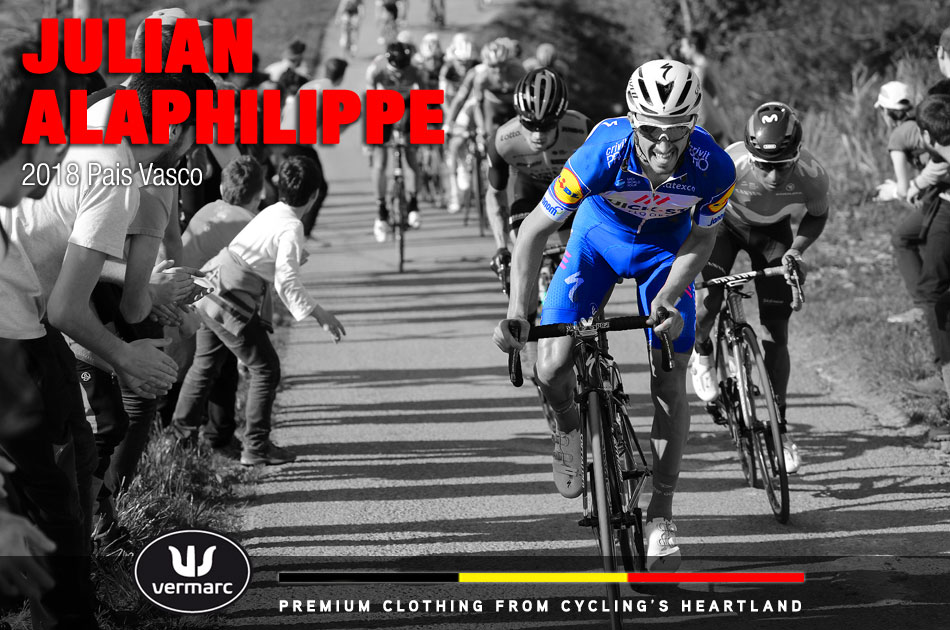 Julian Alaphilippe at the 2018 Pais Vasco