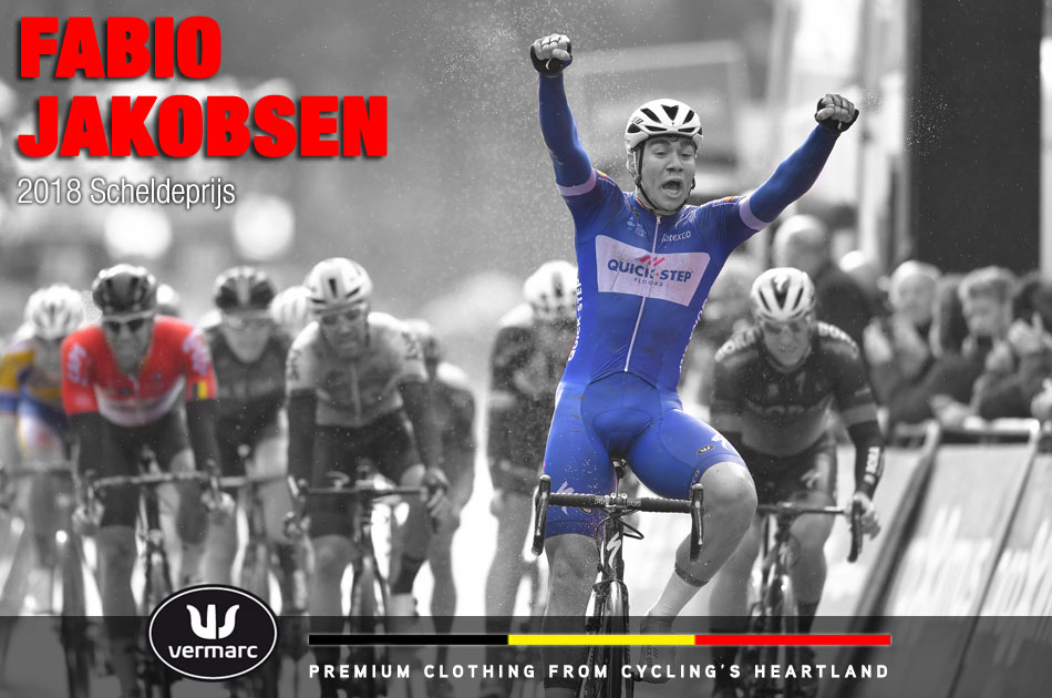 Fabio Jakobsen wins the 2018 Scheldeprijs