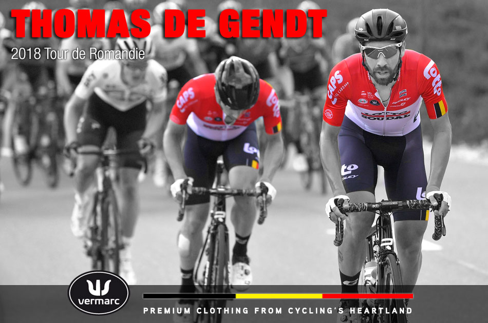 Thomas De Gendt at the 2018 Tour De Romandie