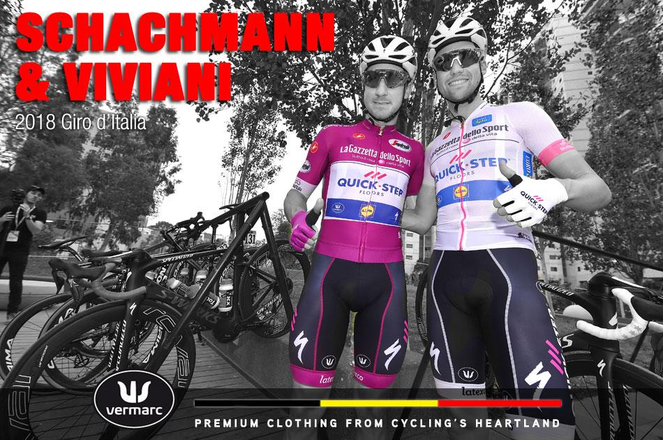 Schachmann & Viviani - 2018 Giro d'Italia