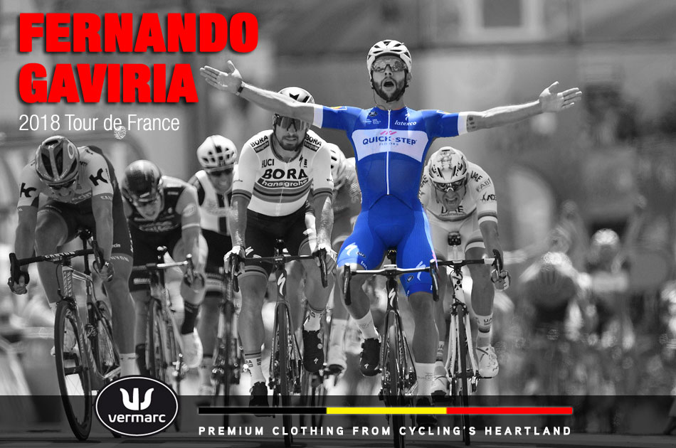 Fernando Gaviria wins stage 1 of the 2018 Tour de France