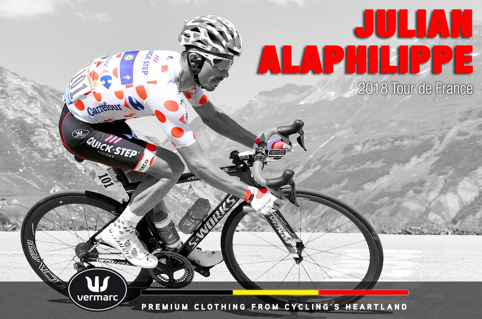 Julian Alaphilippe at the 2018 Tour de France